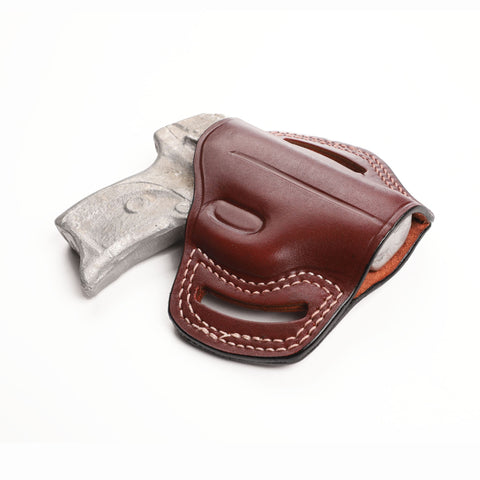 Ruger LC9 9MM, LC 380, LCP 380 ACP Leather Pancake Sport Holster - Pusat Holster
