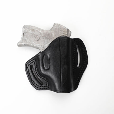 Ruger LC9 9MM, LC 380, LCP 380 ACP Leather Pancake Sport Holster, Pusat Holster