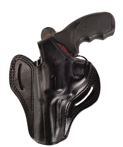 Ruger GP100 357 Magnum Leather OWB 4 Holster - Pusat Holster