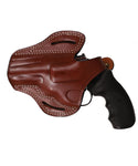 Ruger GP100 357 MAG/38 SP Leather OWB 3 Holster, Pusat Holster