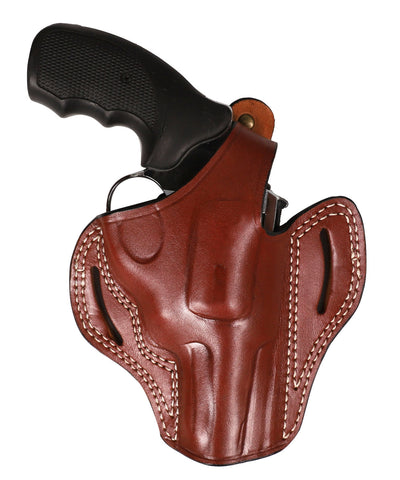 Ruger GP100 357 MAG/38 SP Leather OWB 3 Holster - Pusat Holster
