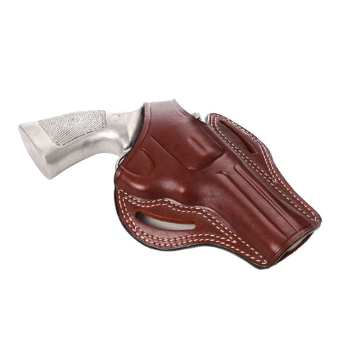 Smith Wesson 686 L Frame 6 Shot Leather OWB 4 BBL Holster, Pusat Holster