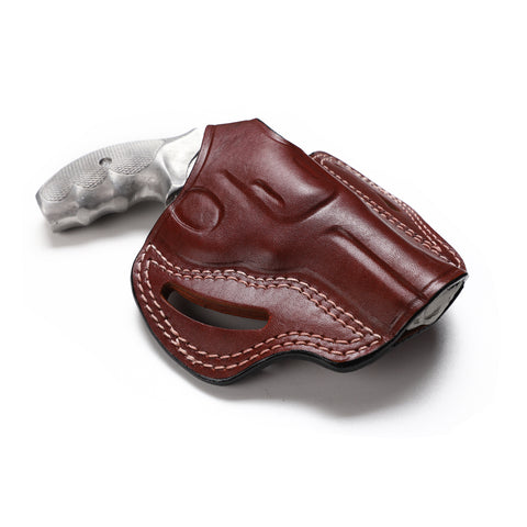 Smith Wesson Model 60 Leather OWB 3 BBL Holster, Pusat Holster