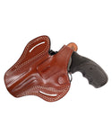 Smith Wesson Model 28 Leather OWB 4 Holster, Pusat Holster