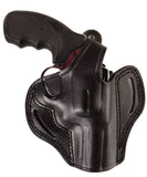 Smith Wesson 586 L-Comp Leather OWB 3 Holster, Pusat Holster