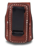 Speedloader Leather Pouch Case Single 5-6 Rounds, Pusat Holster