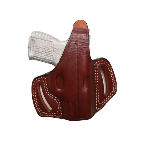 Springfield XD-S 9MM, 40 SW, 45 ACP Leather OWB 3.3 inch Holster - Pusat Holster