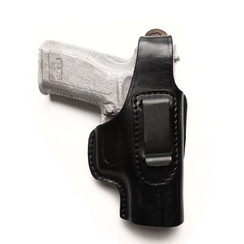 Springfield XD 40 SW, 9MM, 45 ACP Compact Leather IWB 4 inch Holster - Pusat Holster