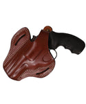 Taurus 66 Leather OWB 3 Belt Holster 357 MAG, Pusat Holster