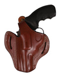 Taurus 82 Leather OWB 3 Belt Holster 38 SP, Pusat Holster