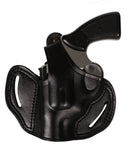 Taurus 856 Revolver Leather OWB 2 Holster 38 SP - Pusat Holster