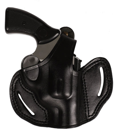 Taurus 85 Revolver Leather OWB 2 Holster 38 SP - Pusat Holster