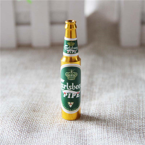Mini Beer Bottle Pipe