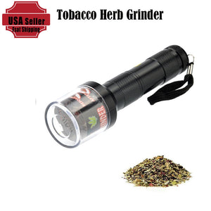 Electrical Metal Aluminum Tobacco Herb Grinder Cracker Crusher Smoke Spice Weed Grinder Muller