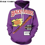 Honey Berry Backwoods Pull Over Hoodie