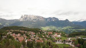 Val di Funes Dolomites Aerial Video - 4K Stock Footage - Item #190