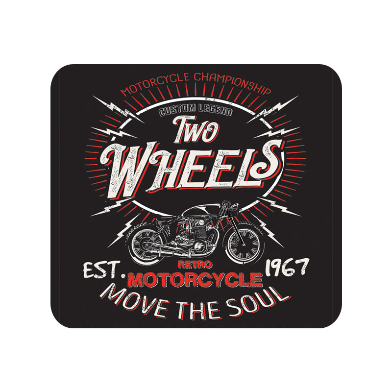 Two Wheels Move the Soul Mousepad