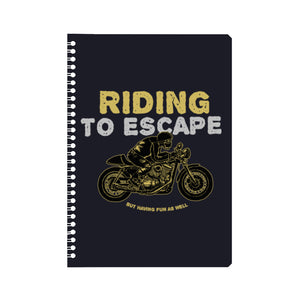 Riding to Escape Notebook