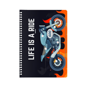 Life is a Ride Notebook