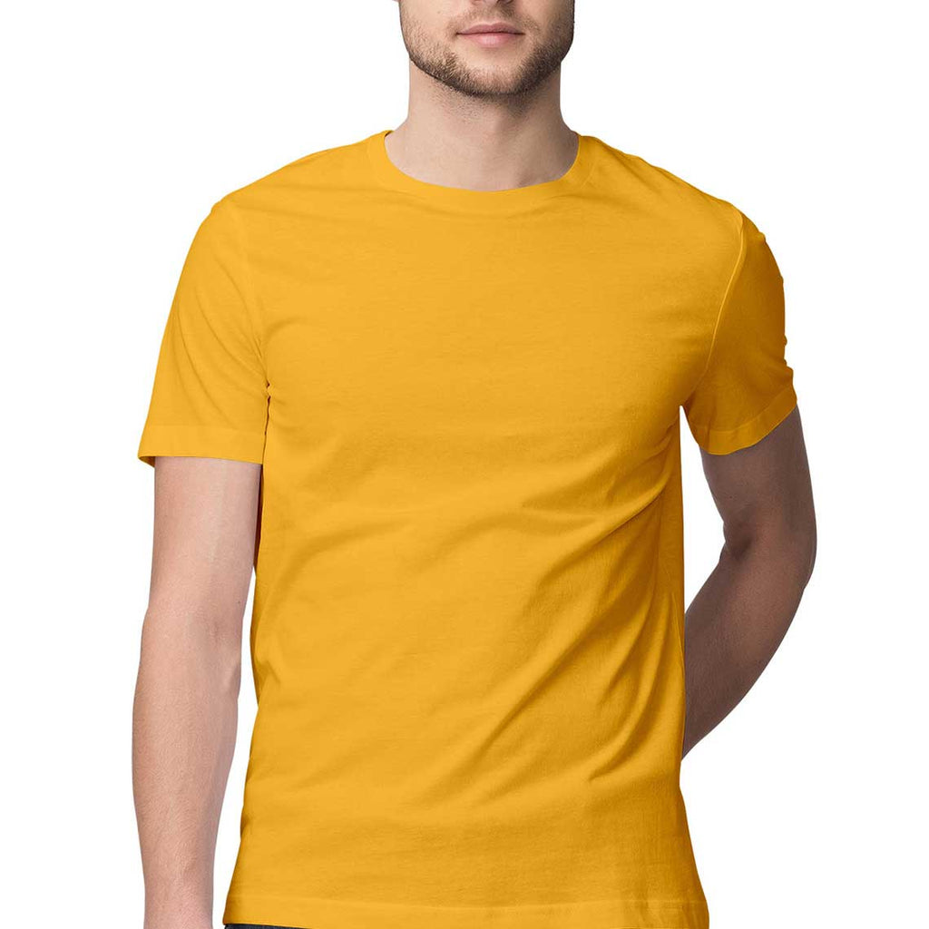 Golden Yellow Plain Tee