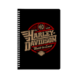 Harley Davidson built to last Notebook