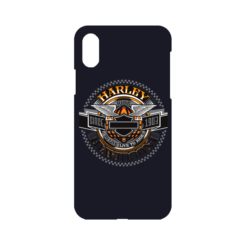 Harley Davidson Ride to Live iPhone Case