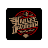 Harley Davidson built to last Mousepad