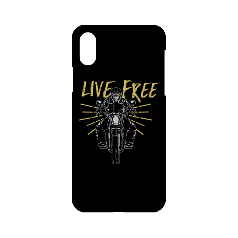Life Free iPhone Case
