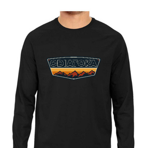 ODIATOKA Full Sleeve Tee - Black