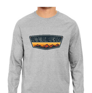 ODIATOKA Full Sleeve Tee - Grey - L