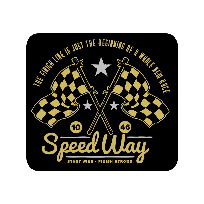 Speed Way Mousepad
