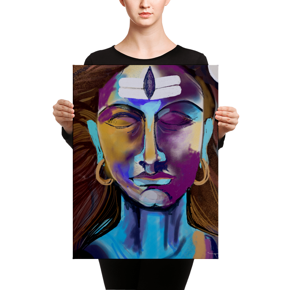 Lord Shiva Canvas Print
