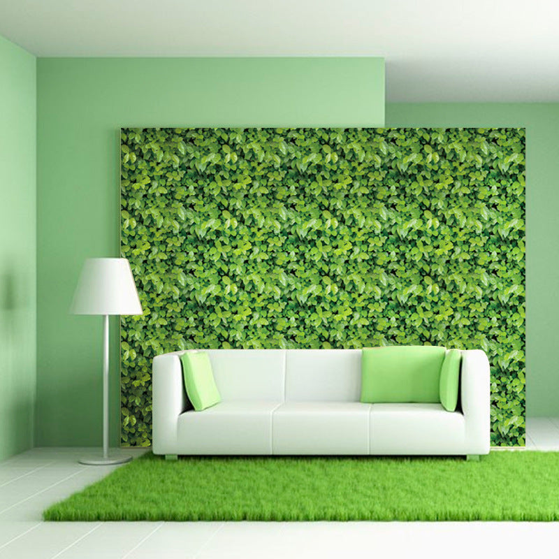 3d effect green grass self adhesive wallpaper waterproof wall paper