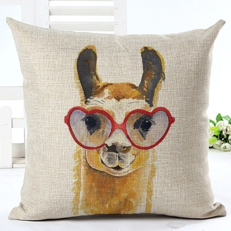 Badger Pattern Printed Cushion Covers Pillow Cases Home Decor or Inner