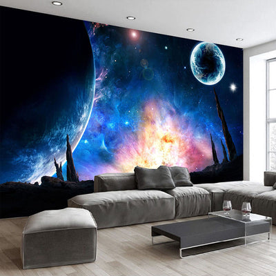 Custom Photo Wallpaper Universe Star Sky Mural Bedroom Study Living Room Sofa Tv Background Wall Painting Wall Papers Home Decor