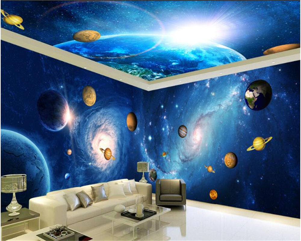 Painting Supplies & Wall Treatments Home Improvement Beibehang Papel De Parede 3d Living Entrance Mural Wallpaper Wedding Photography Background Painting Palace Photo Wall Paper Be Novel In Design