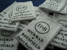 Custom Printed Cotton Taffeta Label 1,000pcs *Screen Print Process* *Free Worldwide Shipping*