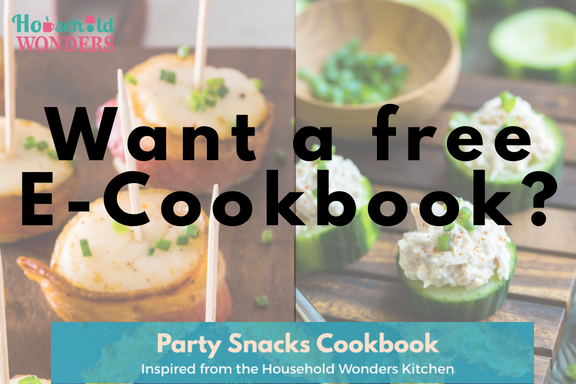 free e-cookbook by Household Wonders