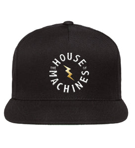 Golden Bolt Logo Cap