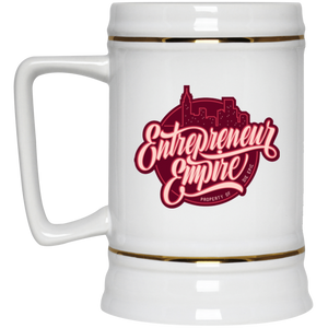 Entrepreneur Empire Beer Stein | Entrepreneur Apparel & Gear | Entrepreneur Empire