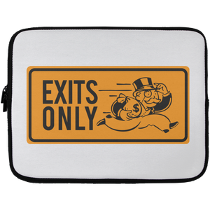 Exits Only Laptop Sleeve | Entrepreneur Apparel & Gear | Entrepreneur Empire