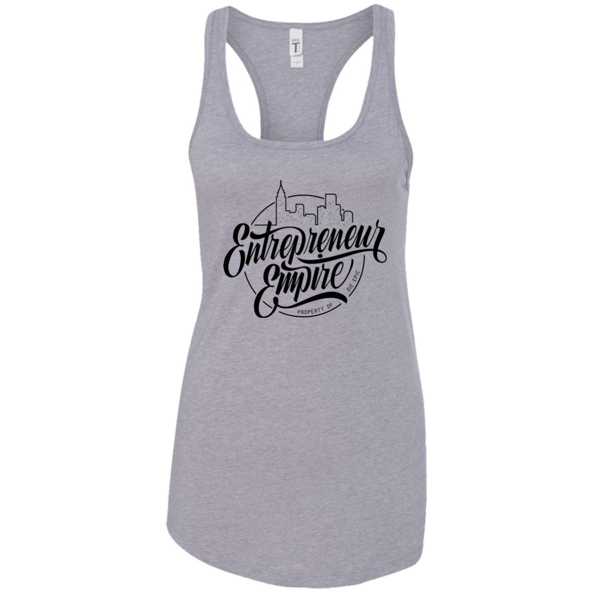 Entrepreneur Empire Ladies Racerback Tank | Entrepreneur Apparel & Gear | Entrepreneur Empire