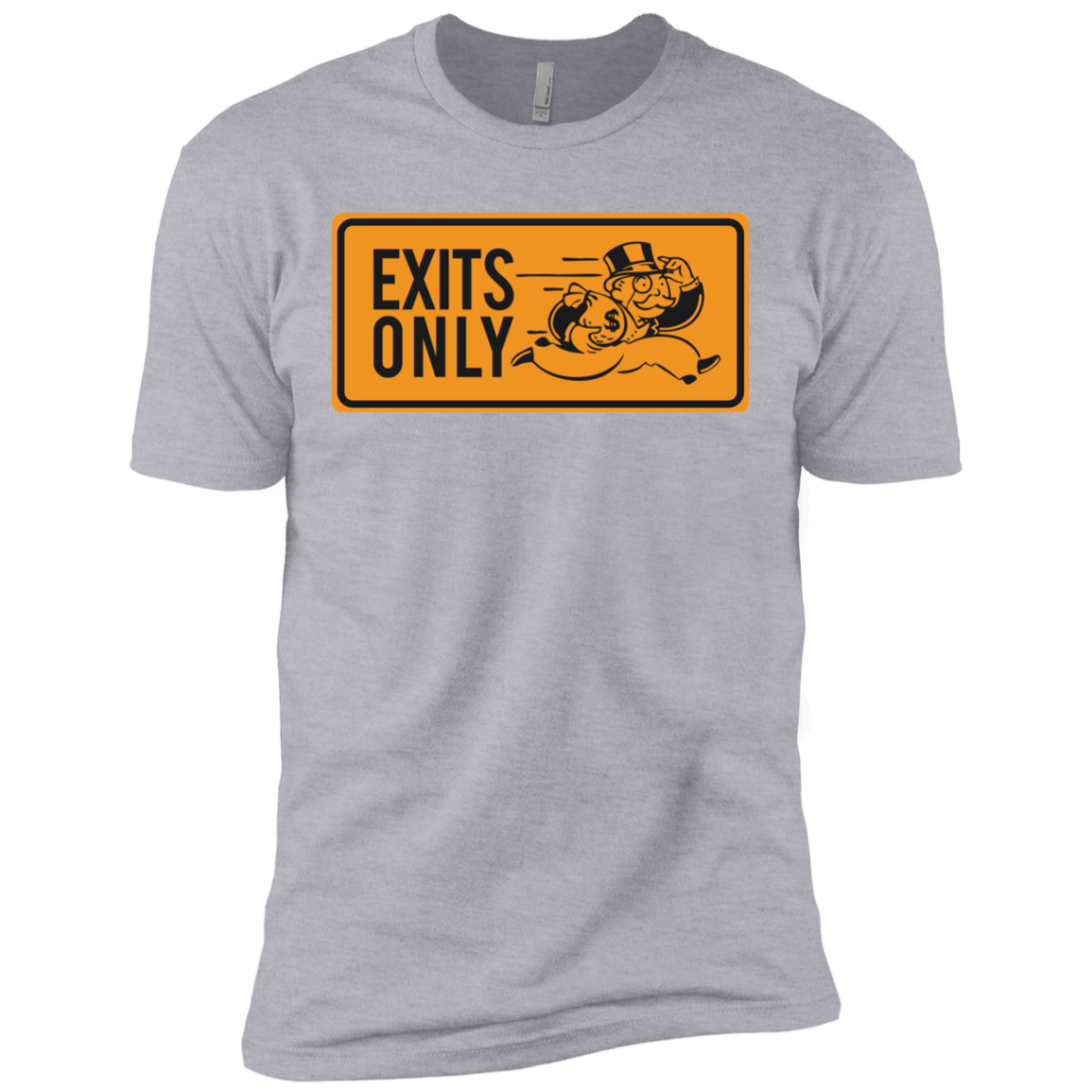 Exits Only Short Sleeve T-Shirt | Entrepreneur Apparel & Gear | Entrepreneur Empire