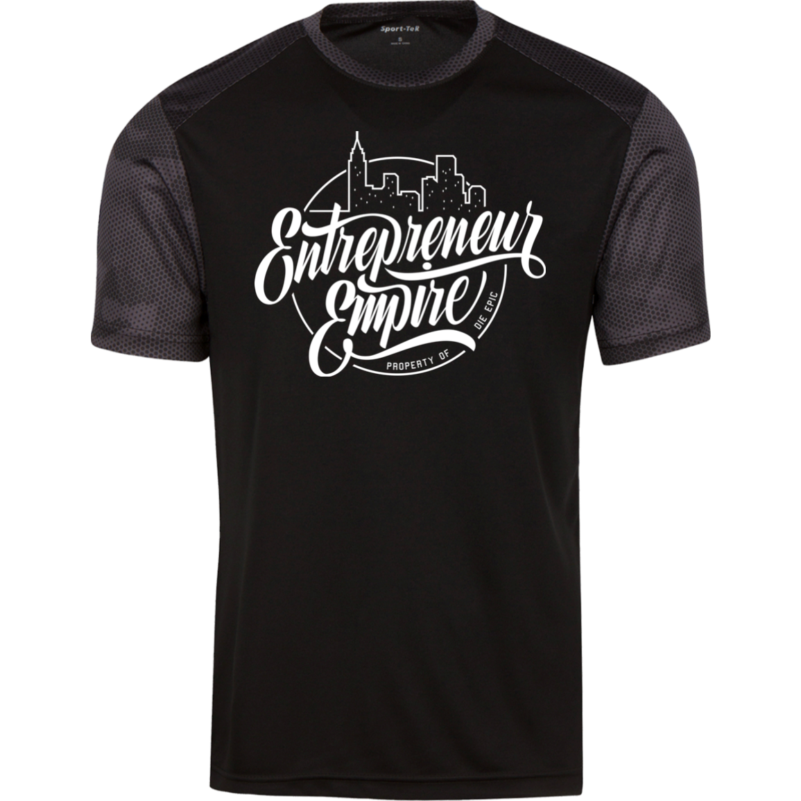 Entrepreneur Empire CamoHex Colorblock T-Shirt | Entrepreneur Apparel & Gear | Entrepreneur Empire