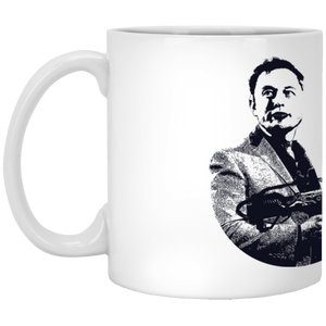 Elon Musk | 11 oz. Mug | Entrepreneur Apparel & Gear | Entrepreneur Empire
