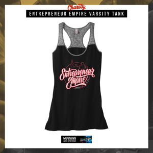 Entrepreneur Empire Varsity Tank | Entrepreneur Apparel & Gear | Entrepreneur Empire