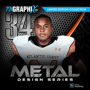 Metal Series - Sports Photoshop Templates