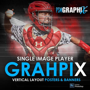 Player Banners & Posters Vertical Photoshop Templates