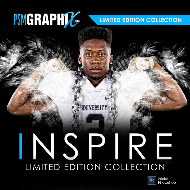 Inspire Series - Sports Photoshop Templates