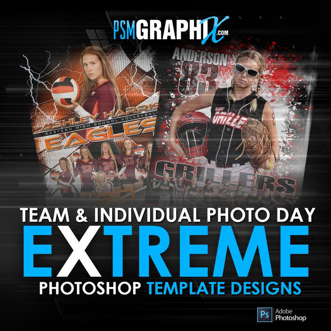 Extreme T&I Posters & Banner Sports Templates